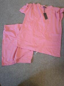 Threadbare Shorts And T-Shirt Set Size 16 from asos