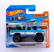 Hot Wheels 1/64 3 inch '70 Dodge Power Wagon