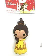 "Disney Hallmark Belle Christmas Ornament Beauty And The Beast Tree 2.5"" New"