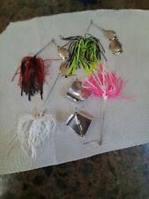 3/8 & 1/4 Ounce Spinnerbaits & Buzzbaits Set Of 4, Made In The Usa #1