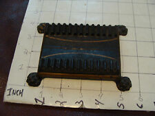 vintage 1800's CAST IRON Device with Pin Striping, very cool Smoking related ?