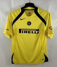 Inter Milan Training Football Shirt 2005/06 Adults Small Nike C10