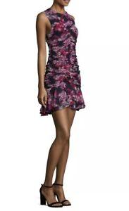 CAMILLA & MARC | Sz Aus 6 | Grenadine Ruched Mini Dress | Grenadine Print