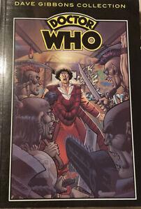 Doctor Who Comics Dave Gibbons Graphic Novel Tom Baker 4th Doctor