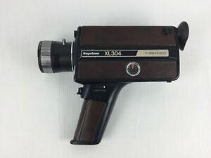 Vintage Keystone XL304 Super 8 Zoom Electric Eye - For parts or repair