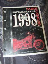 2I - Parts Catalog Harley Davidson Official Manual SOFTAIL Models 1998