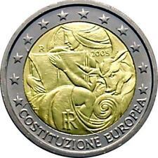 ITALIA 2005  2,00 COMMEMORATIVO COSTITUZIONE EUROPEA   FDC DA ROLLS