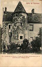 CPA  Vallée de Chevreuse -Gif -Tourelle dde la Maison á l'Image de ...  (352747)