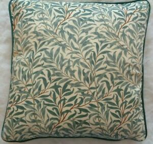 """WILLOW BOUGH  BY WILLIAM MORRIS 18"""" CUSHION COVER STUNNING DESIGN 100% COTTON"""
