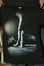 JUSTIN BIEBER LIVE PHOTO TOUR T SHIRT LARGE EARLY NM- CLEAN TOP 40 POP