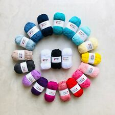1kg 100% cotton 4ply yarn gift set Oeko-Tex® amigurumi knitting crochet 20pcs