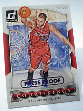 2014-15  DONRUSS NBA  BLAKE GRIFFIN COURT KINGS PRESS PROOF Purple #1 - 123/199