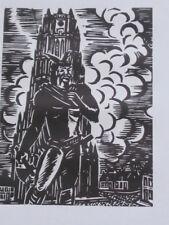 Houtsnede van Frans Masereel: TONGEREN