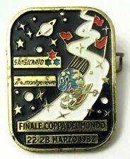 Spilla Finale Coppa Del Mondo Sansicario 22-28 Marzo 1982