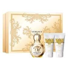 Versace Eros Pour Femme G/S ALL 50ml EDP+ S/G+ Body Milk - NEW - FREE P&P - UK