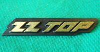Vintage Original 1980's ZZ Top American USA Rock Heavy Metal Band Music Badge
