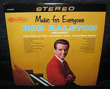 BOB RALSTON Music For Everyone (Original 1964 U.S. 12 Track Stereo LP)