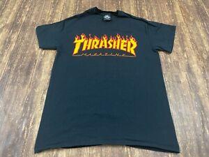 Thrasher Magazine Men's Black Skateboarding T-Shirt - Small