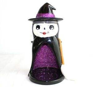Bath and Body Works Rare Witch Candle Holder Halloween Table Decor