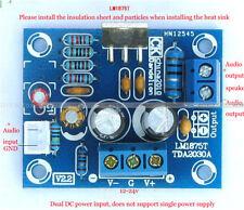 20W HIFI Mono Channel LM1875T Stereo Audio Amplifier Board Module DIY Kit D
