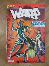 WARP #4 FIRST COMICS FINE/VERY FINE (W14)