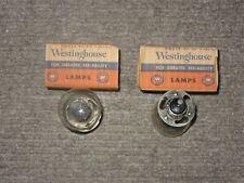 Westinghouse NOS Lamp No. 2330 6-Volt Headlight Bulbs Set