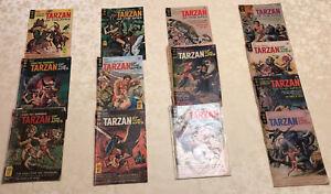 Tarzan of the Apes 13 Gold Key 1966 Bonus Dell Tarzan # 51 & 5 Korak GoldKey LOT