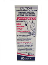 Mavlab Avitrol Plus 100ml Bird Wormer Syrup Concentrate Praziquantel cage ANC922