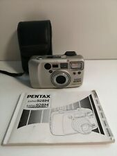 Pentax Espio 928M 35mm Compact Film Camera - With Instructions and Case