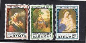BAHAMAS #569-571  1984  CHRISTMAS  MINT  VF NH  O.G  a