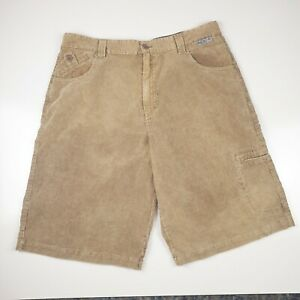 REEF - Men's Corduroy Neutral Cargo Shorts - Size 38