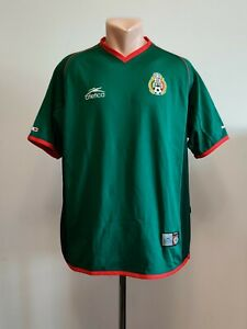 Football shirt soccer FC Mexico Home 2002/2003 Atletica jersey National Green L
