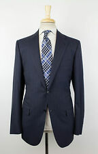 New KITON NAPOLI Blue 14 Micron Super 180's Wool Suit Size 52/42 R Drop 7 $8995