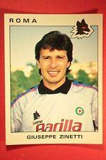 Panini Calciatori 1991/92 N. 279 ROMA ZINETTI OTTIMA / EDICOLA !!!