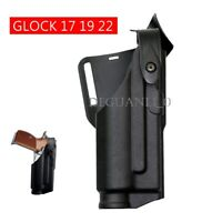 Military Tactic Automatic Locking Duty Flashlight Holster for Glock 17 19 22 23