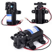 12V 3.5L/Min 70PSI High Pressure Diaphragm Self Priming Water Pump Auto Washing