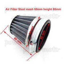 "2.36""Universal Cone Air Filter For Honda Kawasaki Suzuki Yamaha ATV Quad Motor"