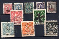 Germany 1920 Bayern Deutsches Reich fine used set WS18979