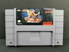 Fatal Fury (Super Nintendo SNES, 1992) Authentic Fighting Game Cartridge TESTED