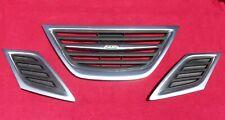 2008-2011 Saab 9-3 93 sedan convertible Grille Front Grill 3 piece set upper OEM