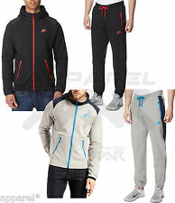 Nike Hybrid Mens Fleece Hoody Sports Jogging Full Zip Tracksuit Top Bottoms Suit