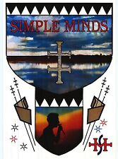 "MUSIC POSTER~Simple Minds Waterfront 24x36"" Vintage NOS UK Import Album Rare~"