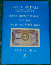 More details for british military authority occupation currency fa van elmpt proof copy signed