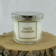 Bath & Body Works White Pumpkin Single Wick 4 oz Tester Candle