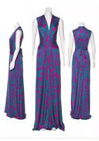 ISSA Wrap Dress UK Size 12 USA Size 8. Stunning Gown