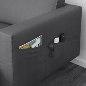 IKEA Norsborg  armrest covers [pair] in Finnsta Dark Grey