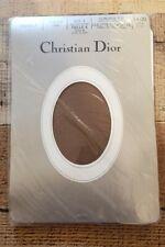 Christian Dior Vintage Panty Hose 4419 Tender Tan Control Top Sz 4 Dead Stock