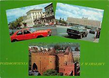 B45555 Warszawa cars voitures multiviews   poland