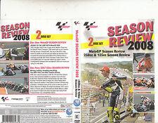 Moto GP Season Review 2008-250cc & 125cc Season Review-Motor Bike Moto GP-2 DVD