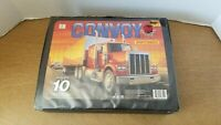 Vintage 1989 Matchbox Convoy Official Carry Case holds 10 Convoy Rigs